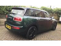 2016 (66 plate) Mini Cooper D Clubman 2.0 British Racing Green 17k miles