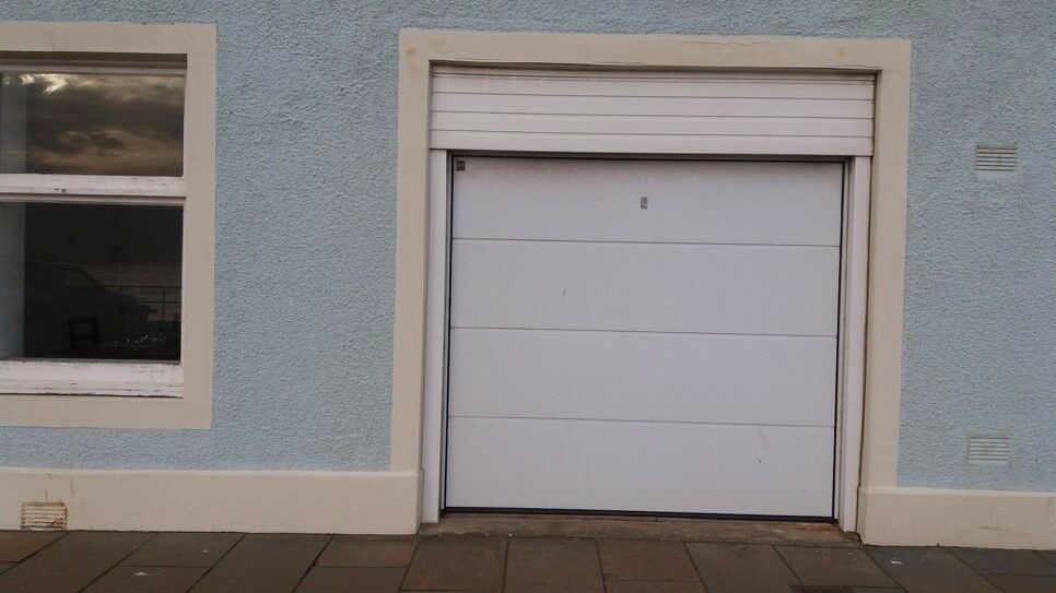 Remote controlled garage door