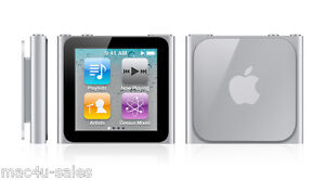 Apple iPod nano 6th Generation Silver 8GB - New with 3 months warranty