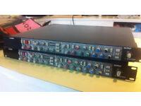 2x SSL 4000 E channel strips
