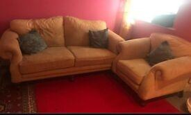 Sofa set/ setae 2 seater + 1 arm chair