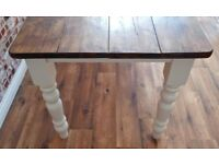 Farmhouse Rustic Reclaimed Pine Kitchen Dining Table - Available Now - Free Delivery