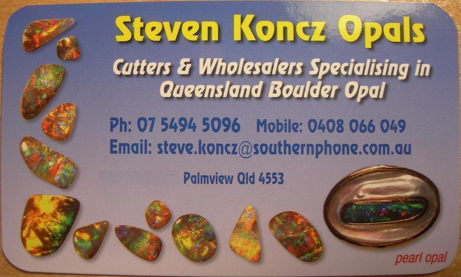 Steven Koncz Opals