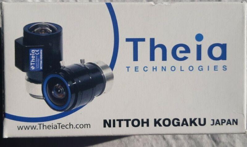 THEIA SL183M CS Lens 1.8-3MM F1.8 Pro 4K Manual Iris HD 1080p ultra wide