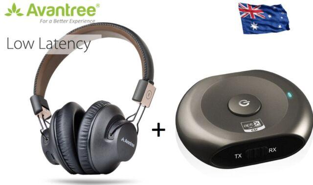 TV Super Low Latency TV Headphones and Bluetooth Saturn Pro Transmitter apt-X