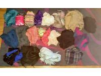 Bargain! Job lot of 20 assorted scarves