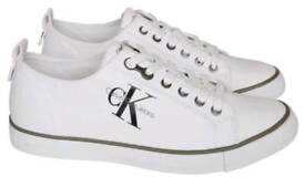 Brand New Genuine Calvn Klein Canvas Trainers