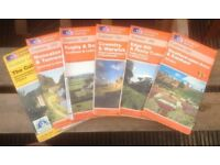Ordnance Survey 'Explorer' Maps : Stratford Warwick Daventry Coventry Edge Hill Plus! (Six Maps)