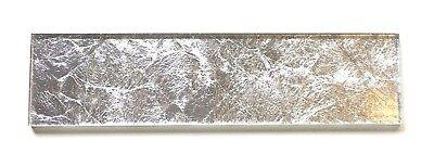 3x12 Belair Glamour Silver Leaf Glass Tile Kitchen Bathroom Backsplash ](Glamour Glasses)