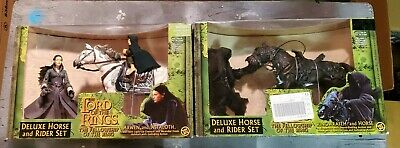 UNOPENED LORD OF THE RINGS DELUXE HORSE AND RIDER SET (Deluxe Action Figure Assortment)