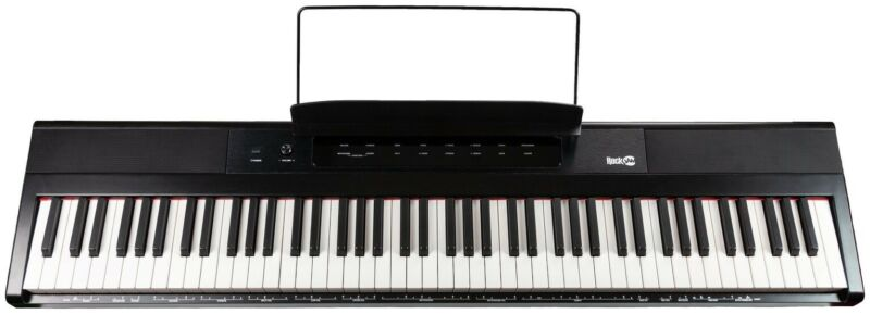 RockJam Full Size 88 Key 24W Digital Keyboard With Simply Piano App