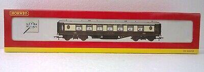 """NEW Hornby R4163 OO Gauge Lighted Pullman 2nd Class Parlour Coach """"Car No.64"""""""