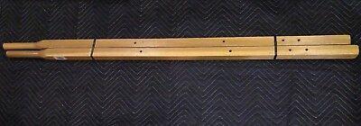 Ames True Temper Wheelbarrow Handles 00221400 C Series Hardwood Pair 221400 60