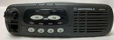 Motorola Cdm750 Uhf Mobile Radio 4 Channel 40 Watt 450-512mhz