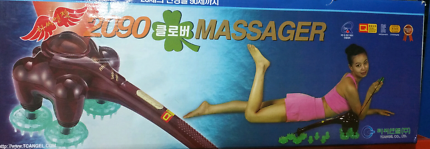 Massager with double row