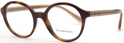 Burberry Damen Brillenfassung BE2254 3316 49mm havana braun Vollrand rund 98 2