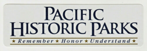 """Pacific Historic Parks Book Marker * Remember * Honor * Understand * 7"""" X 2 1/8"""""""