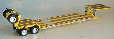 YELLOW RENEGADE LOWBOY TRAILER ONLY 1/64 DCP DIECAST 33673