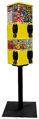 U-Turn Candy Vending Machine, 8 Selection, Yellow, New in Box
