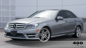 2012 Mercedes-Benz C350 4matic *LEATHER**NAV**SUNROOF**AMGWHEELS
