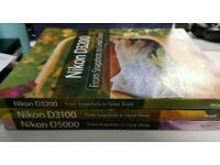 Nikon d3100, d3200 & d5100 From snapshots to great shots books