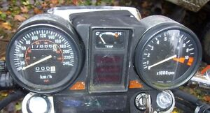 Honda Magna 750 guages instrument panel  tach