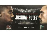 Joshua vs Carlos Takam (Pulev Stand in)Tickets
