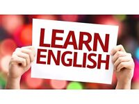 English language tuition (One-to-one) from £30 per hour with native English-speaking teacher