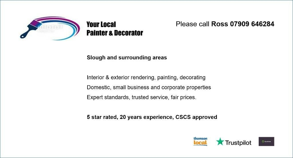 YOUR LOCAL PAINTER & DECORATOR - Slough - Expert, trusted, fair ...