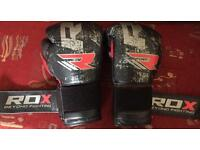 RDX Ultimate Leather Boxing Gloves 16 oz BGL-T2