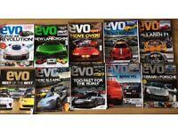 10 EVO car magazines 2010