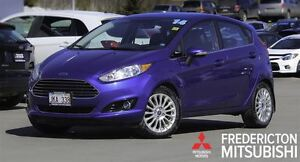 2014 Ford Fiesta TITANIUM! HEATED LEATHER! NAV!