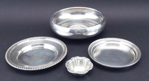 LOT BIRKS STERLING SILVER HOLLOWARE BOWLS DISHES 373 grams