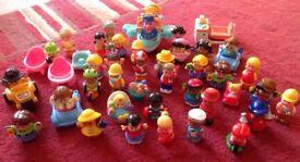 Fisher Price Little People & Happyland Bundle