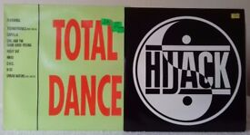 2 LPs Total Dance and Hijack