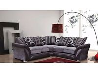 NEW SHANNON CORNER SOFA AND 3 AND 2 SEATER SOFA ANY WHERE IN UK