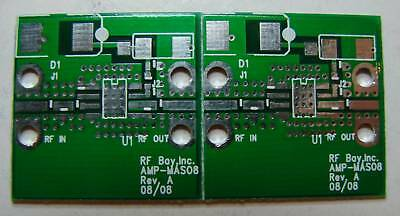 Pcb For Ma Com So-8 Mmic Low Noise Amplifier Qty.2