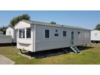 3 bed caravan for hire/rents with air con, West Sands, Selsey, Bunn Leisure. 30th July to 2nd Aug