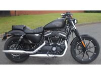 Beautiful 2017 (3 months old) Harley Davidson Sportster XL 883N Iron