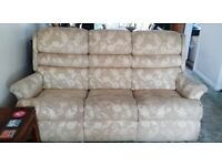 Matching sofa and armchair
