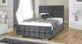 Fabric Upholstered Bed Frame