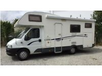 2006 ci 665 G 6 berth motor home with garage.