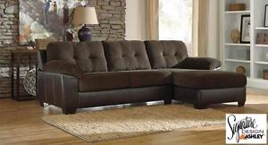 "PRICE REDUCED! Brand NEW ""Vanleer"" 2PC Sectional! Call 709-634-1001!"