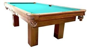 "4'x8' 3/4"" Slate Used Dufferin Pool Table, INSTALLED"