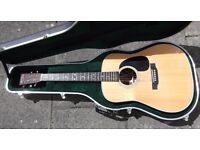 Martin D28 Acoustic with case