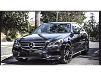 Mercedes E-Class for RENT - PCO Ready