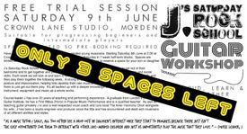 Calling All Young Guitarists In Morden & Beyond. Free Trial Session. Only 3 Spaces Left.
