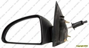 Door Mirror Manual Driver Side Coupe Chevrolet Cobalt 2005-2010