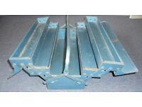 Metal Cantilever Tool Box - Extra Long