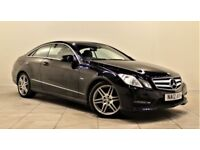MERCEDES-BENZ E CLASS 2.1 E220 CDI BLUEEFFICIENCY SPORT 2d AUTO 170 BHP SAT NAV + AIR CON + LEATHERS